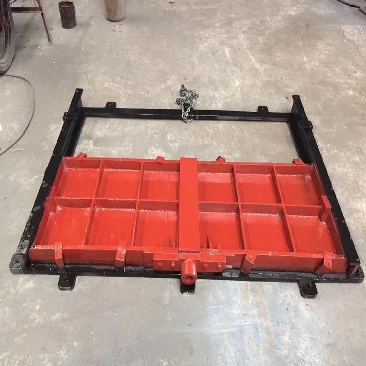 不锈钢下开式堰门 电动调节堰门