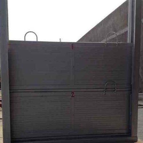 污水处理厂用不锈钢插板钢闸门一体式启闭机