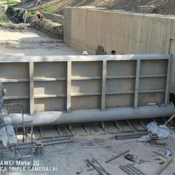 水库钢制闸门