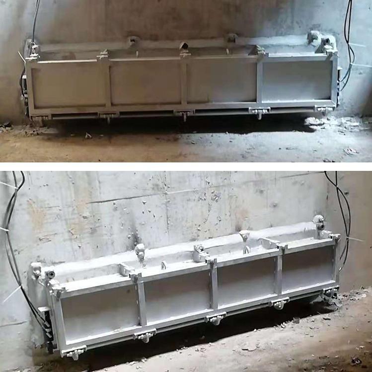 调蓄池水力冲洗门