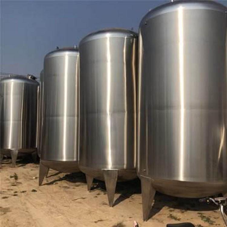 长期购销二手不锈钢储罐 啤酒发酵罐不锈钢储罐 道恩 欢迎订购