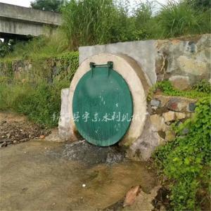宇东水利 涵洞出口拍门 污水管拍门 排灌管道拍门 规格型号齐全