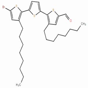 5-溴-3,3-二 辛 基-[2,2:5,2-三 噻 吩]-5-甲 醛
