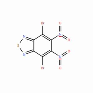 4,7-二溴-5,6-二硝 基苯并[c][1,2,5]噻二唑,CAS号:76186-72-6