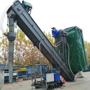 固定式集装箱卸灰机 履带式石料装车机