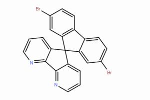 2',7'-二 溴 螺[环 戊 二 烯 并[1,2-b:5,4-b']二 吡 啶-5,9'-芴]