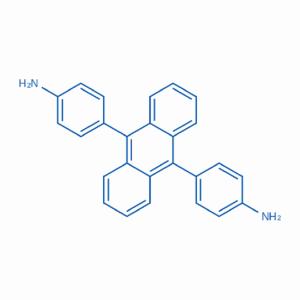 4,4'-(蒽-9,10-二基)二 苯 胺     CAS:106704-35-2     厂家热销