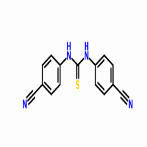 N,N'-bis-(4-cyano-phenyl)-thio urea   CAS :3460-58-0
