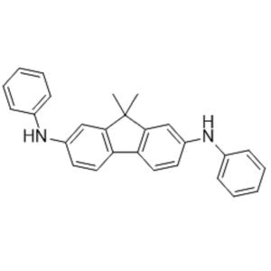 9,9-二甲基-N2,N7-二苯基-9H-芴-2,7-二胺  CAS :354987-86-3
