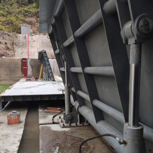 钢坝闸  钢坝闸门生产  景观水闸  平板翻板钢坝闸