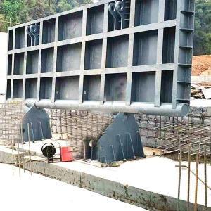 液压升降坝  河道液压坝 液压翻板钢制闸门  货真价实厂家