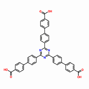 1,3,5-三(4′-羧基[1,1′-联苯]-4-基)苯 CAS号911818-75-2科研实验用 产品图片