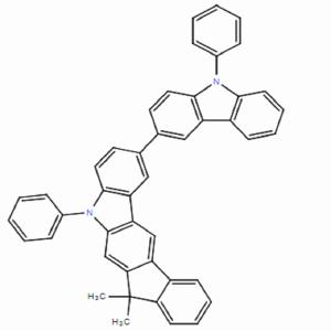 5,7-二氢-7,7-二甲基-5-苯基-2-(9-苯基-9H-咔唑-3-基)-茚并[2,1-b]咔唑
