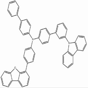 联 苯-4-基-(3'-咔 唑-9-基-联 苯-4-基)-(4-二苯 并呋 喃-4-基-苯基)-胺