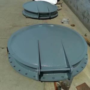 节能型自由侧翻式钢拍门 宇东水利  单开自动拍门 Q235B钢结构碳钢拍门