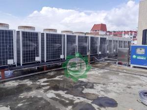 空调冷凝器雾化加湿系统 空调外机高压喷雾降温