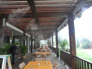 供应机场车站候车室站台喷雾降温设备