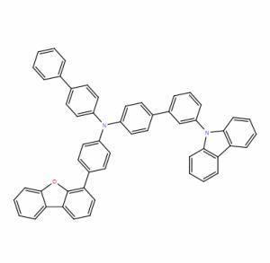 联苯-4-基-(3'-咔唑-9-基-联苯-4-基)-(4-二苯并呋喃-4-基-苯基)-胺 CAS号:2245098-00-2 现货优势供应 科研产品