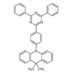 9,9-二甲基-9,10-二氢吖啶-2,4,6-三苯基-1,3,5-三嗪 CAS号:1628752-98-6 现货优势供应 科研产品