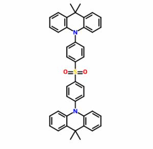 双[4-(9,9-二甲基-9,10-二氢吖啶)苯基]硫砜 CAS号:1477512-32-5 现货优势供应 科研产品