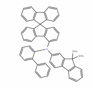 N-(2-联苯基)-N-(9,9-二甲基芴-2-基)-9,9-螺二芴-4-胺 CAS号:1450933-44-4 现货优势供应 科研产品
