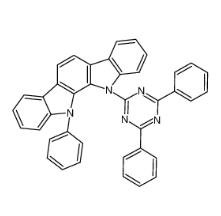 11-(4,6-diphenyl-1,3,5-triazin-2-yl)-12-phenyl-11,12-dihydroindolo[2,3-a]carbazole CAS号:1024598-01-3 现货优势供应 科研产品