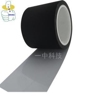 批發啞黑白單面膠 全遮光 白面帶膠