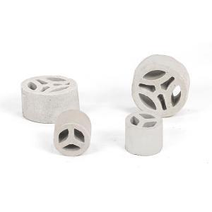 陶瓷三丫环瓷质三Y环填料干燥塔填料陶瓷散堆