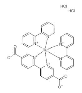 双(2,2'-联吡啶)[[2,2'-联吡啶]-5,5'-二羧酸(2-)]二盐酸盐;生产现货供应,批发优惠价