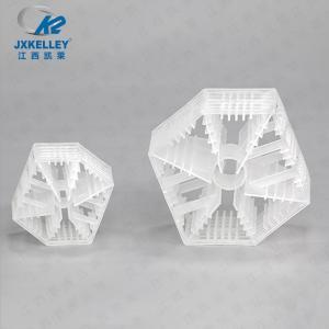 塑料兰帕克填料塑料六棱环填料 酸洗槽填料