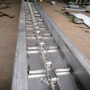 水平刮板输送机价格-化肥刮板输送机-刮板机