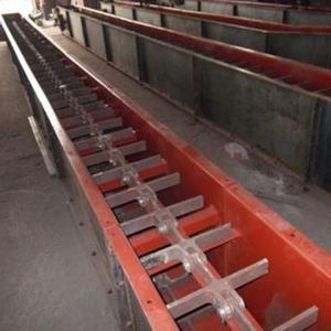山东铸石刮板输送机-双环链刮板机-上料用