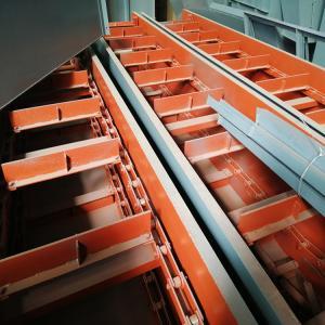 工业水泥刮板输送机-双环链刮板机-拉链机